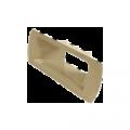 Скиммер, 400 + удлинение, без верхней кромки, цвет черный, SL-119-M-N