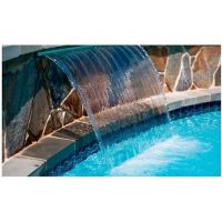 Водопад-насадка с ЛЕД лампой 16 w, 1200*150мм